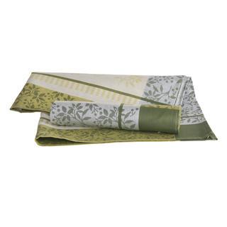 Bavlněné kuchyňské utěrky zelené 50 x 70 cm