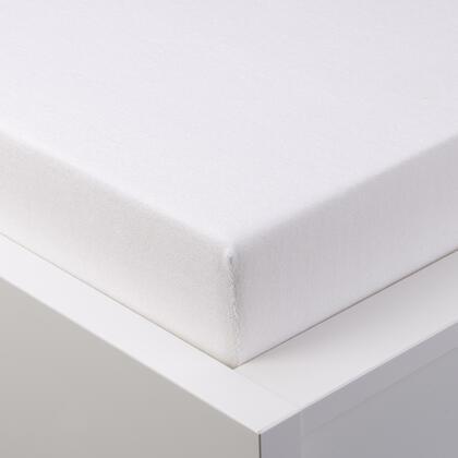 Napínací prostěradlo froté EXCLUSIVE bílá jednolůžko