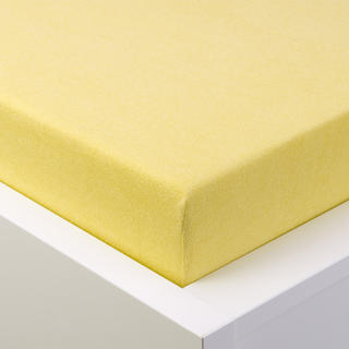 Napínací prostěradlo froté EXCLUSIVE světle žlutá jednolůžko