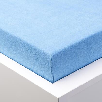 Napínací prostěradlo froté EXCLUSIVE modré, jednolůžko