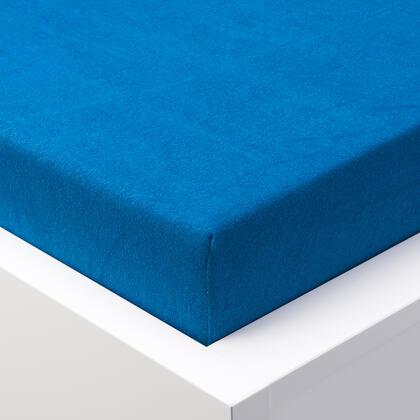 Napínací prostěradlo froté EXCLUSIVE královsky modré, dvojlůžko