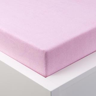 Napínací prostěradlo froté EXCLUSIVE růžové, dětská postýlka