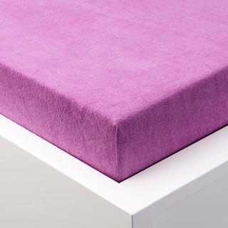 Napínací prostěradlo froté EXCLUSIVE fialová