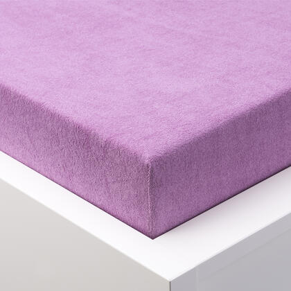 Napínací prostěradlo froté EXCLUSIVE fialové, dvojlůžko