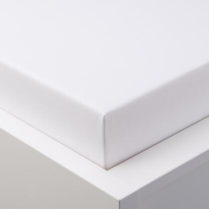Napínací prostěradlo jersey EXCLUSIVE bílé jednolůžko