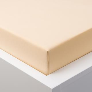 Napínací prostěradlo jersey s elastanem béžové, 180 x 200 cm