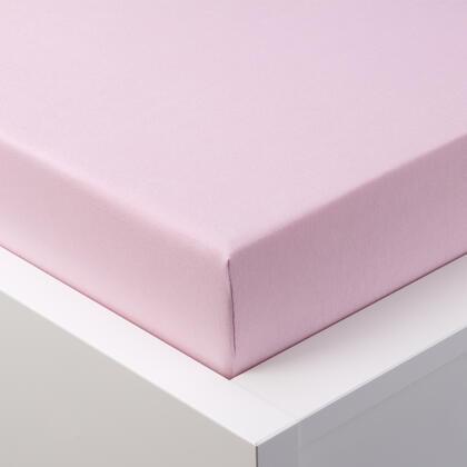 Napínací prostěradlo jersey EXCLUSIVE růžová jednolůžko