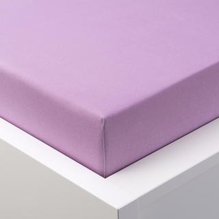 Napínací prostěradlo jersey EXCLUSIVE fialová jednolůžko