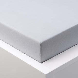 Napínací prostěradlo jersey s elastanem šedé, 180 x 200 cm