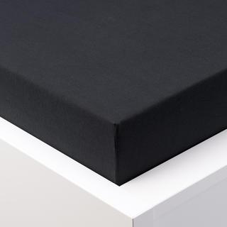 Napínací prostěradlo jersey EXCLUSIVE černá