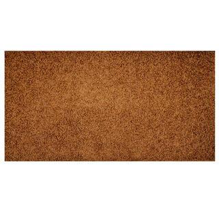 Kusový koberec SHAGGY hnědý