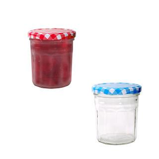 Sklenice s víčkem 240 ml