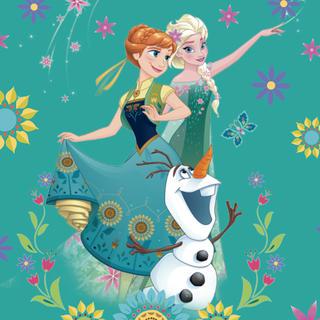 Dětský polštářek s výplní Frozen princezny