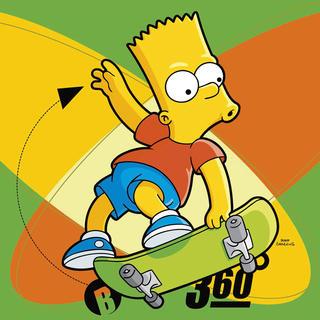 Dětský polštářek s výplní Bart Simpson