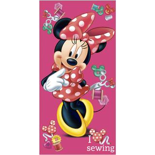 Dětská bavlněná osuška Minnie růžová