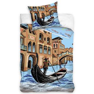 Bavlněné ložní povlečení Benátky