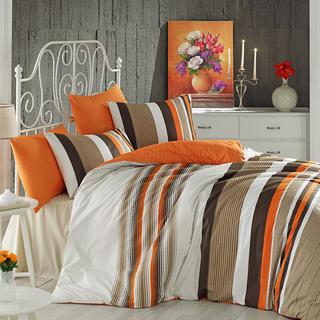 Bavlněné ložní povlečení Touch oranžové