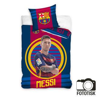 Bavlněné povlečení FCB Messi 2016