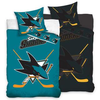 Bavlněné ložní povlečení NHL San Jose Sharks