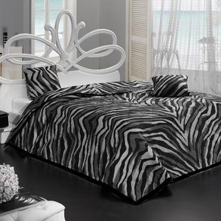 Přehoz na postel Bengal černý