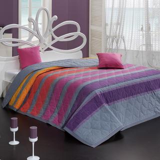 Přehoz na postel Susan fialový