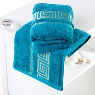 Bambusové ručníky Rome tyrkysové