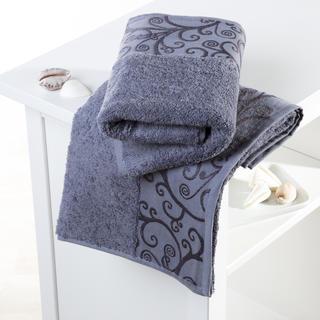 Bavlněné froté ručníky Venezia šedé