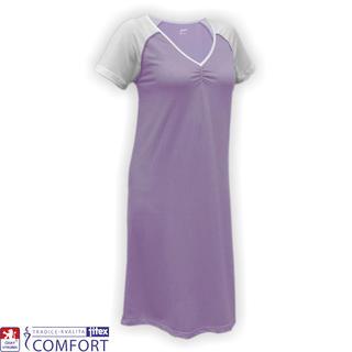 Dámská funkční noční košile Juska fialová