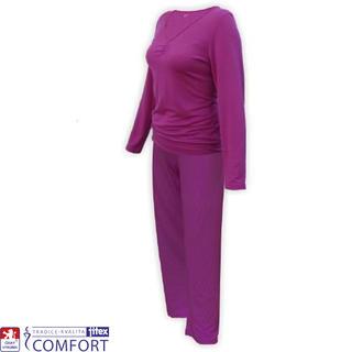 Dámské funkční pyžamo JULEPA fialové
