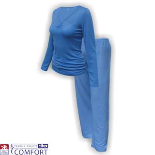 Dámské funkční pyžamo Julepa modré