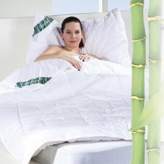 Prošívaná přikrývka a polštář Bamboo Comfort