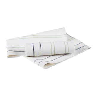 Bambusové utěrky zelený proužek 2 ks