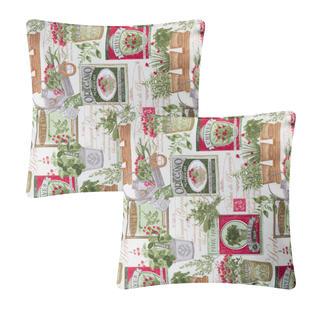 Povlak na polštářek patchwork Herb 2 ks