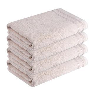 Bavlněné froté ručníky Rimini béžové