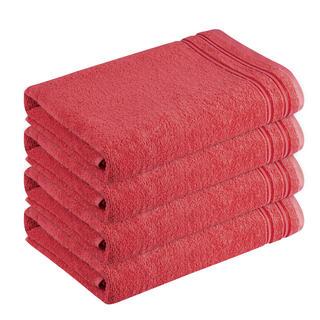 Bavlněné froté ručníky Rimini cihlové