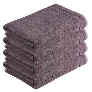 Bavlněné froté ručníky Rimini hnědé