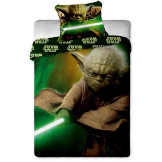 Dětské ložní povlečení Star Wars Yoda