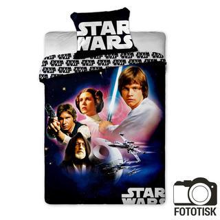 Dětské ložní povlečení Star Wars začátek