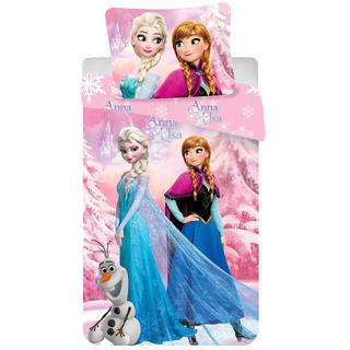 Dětské ložní povlečení Frozen růžové