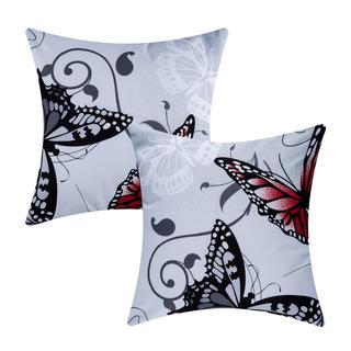 Bavlněné povlaky na polštářky Butterfly 2 ks