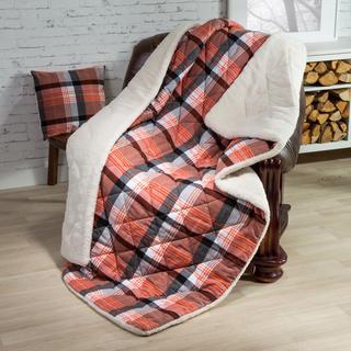 Prošívaná deka s povlakem na polštářek Terra