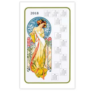 Textilní kalendář Panna