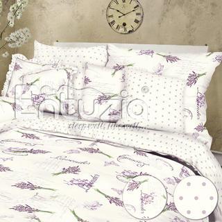 Bavlněné ložní povlečení Lavender white 2 ks