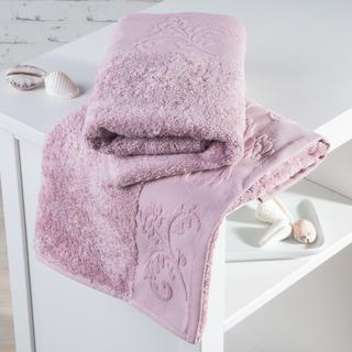 Bambusové ručníky Barcelona růžové
