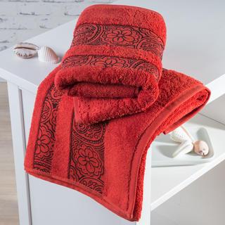 Froté ručníky Madrid terakotové