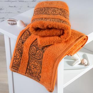 Froté ručníky Madrid oranžové
