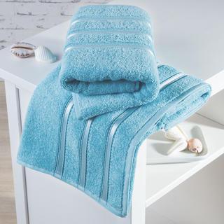 Froté ručníky Bilbao azurové