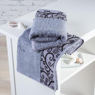 Bambusové ručníky Granada šedé