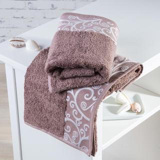 Bambusové ručníky Granada světle hnědé