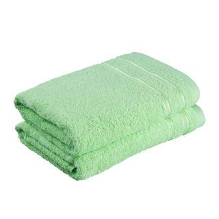 Sada froté ručníků NINA zelené jablko 50 x 100 cm